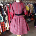 Robe rockabilly en coton.