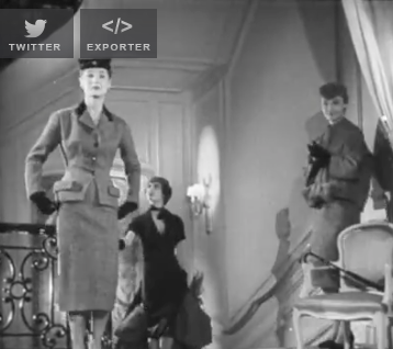 Jupes courtes dior 1953