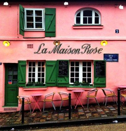 L'emblématique Maison Rose de Montmartre